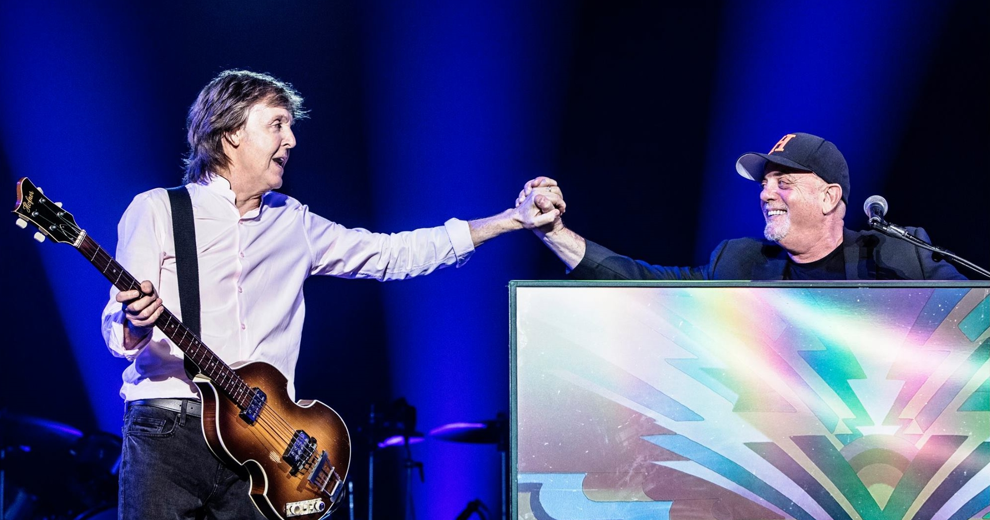 Billy Joel Joins Paul McCartney In New York