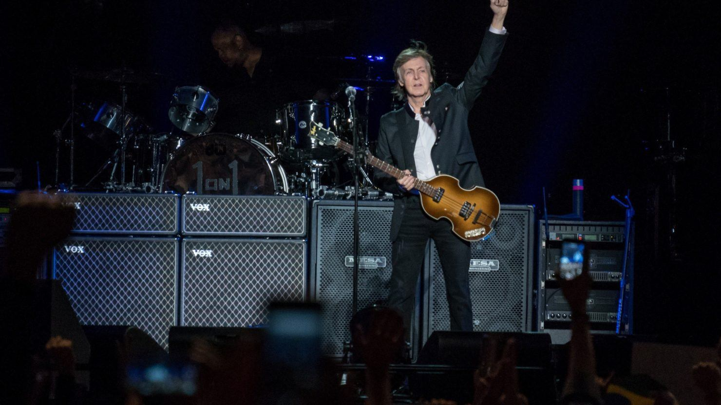 Magical Macca Tour Paul Mccartney Plays 1st Of 8 Nyc Area Shows Photos Review Videos