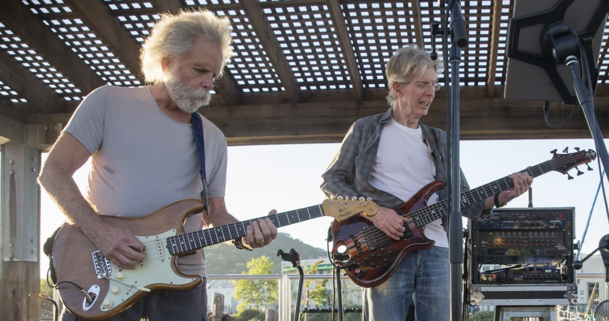 bob weir phil lesh announce duo show webcasts. Black Bedroom Furniture Sets. Home Design Ideas
