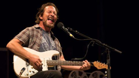 Eddie Vedder Debuts Cover Of Wildflowers By Tom Petty During Solo
