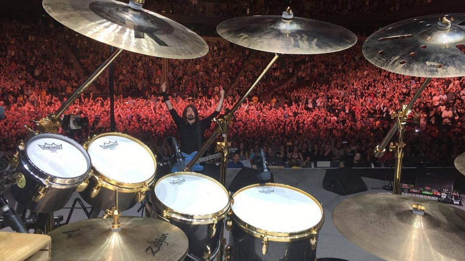 Fan Asks To Play Drums On Foo Fighters' 'Under Pressure' Cover & Band Obliges