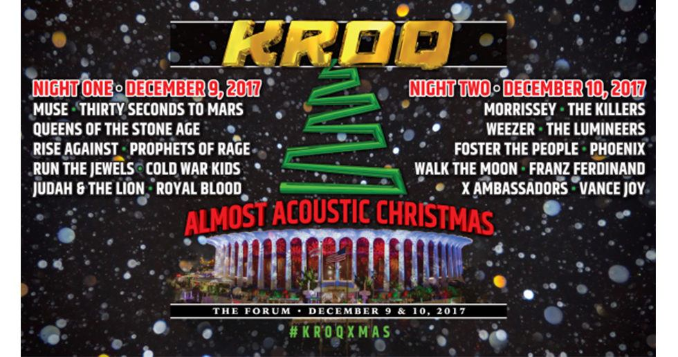 Kroq Almost Acoustic Christmas 2020 Lineup Kroq Acoustic Christmas 2020 Lineup | Fdrzww.newyearland2020.info