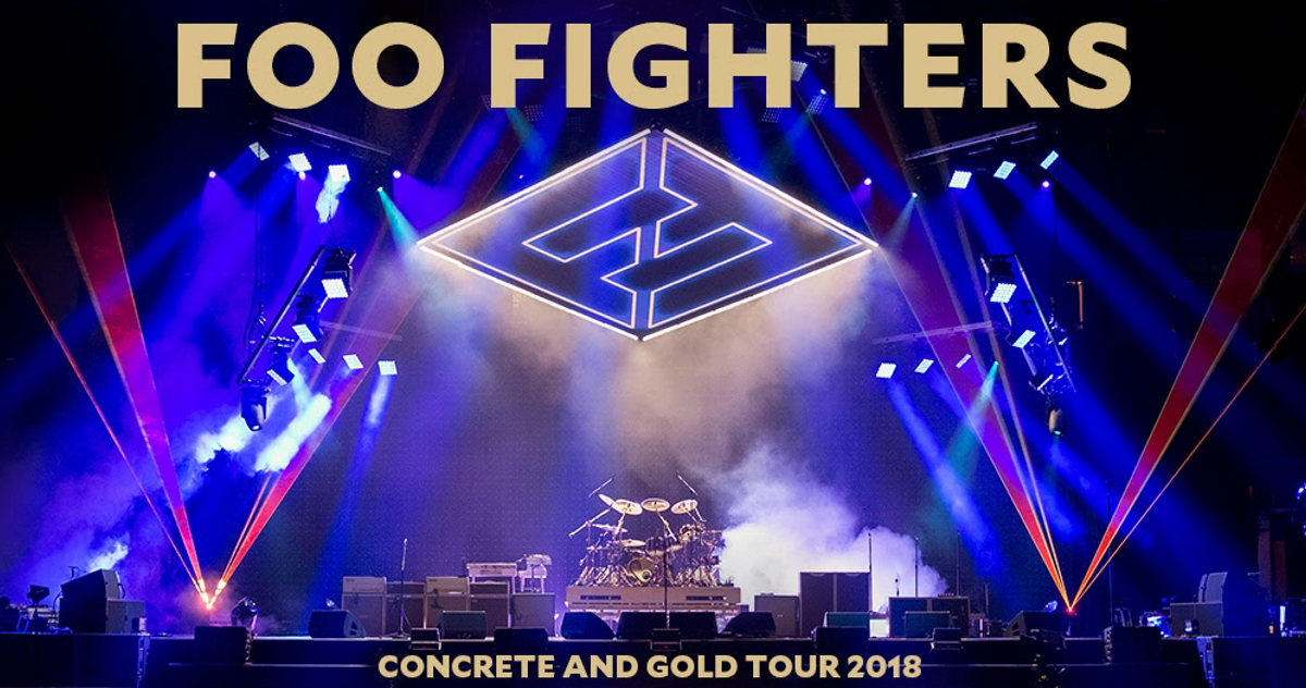 Foo Fighters Add Additional North American 2018 Concrete