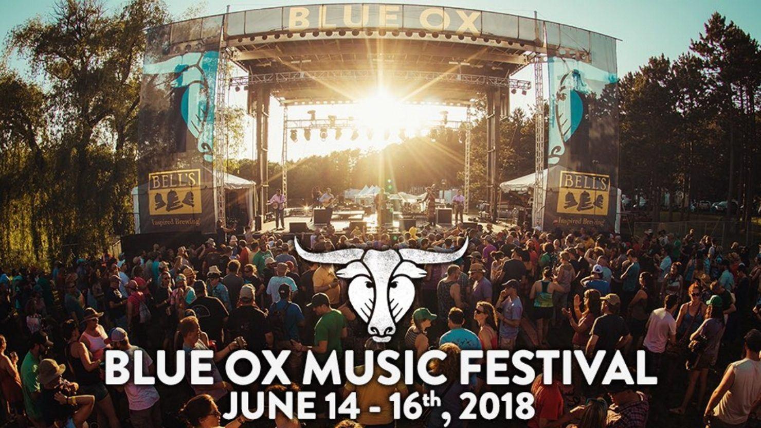 Blue Ox Music Festival Announces 2018 Lineup