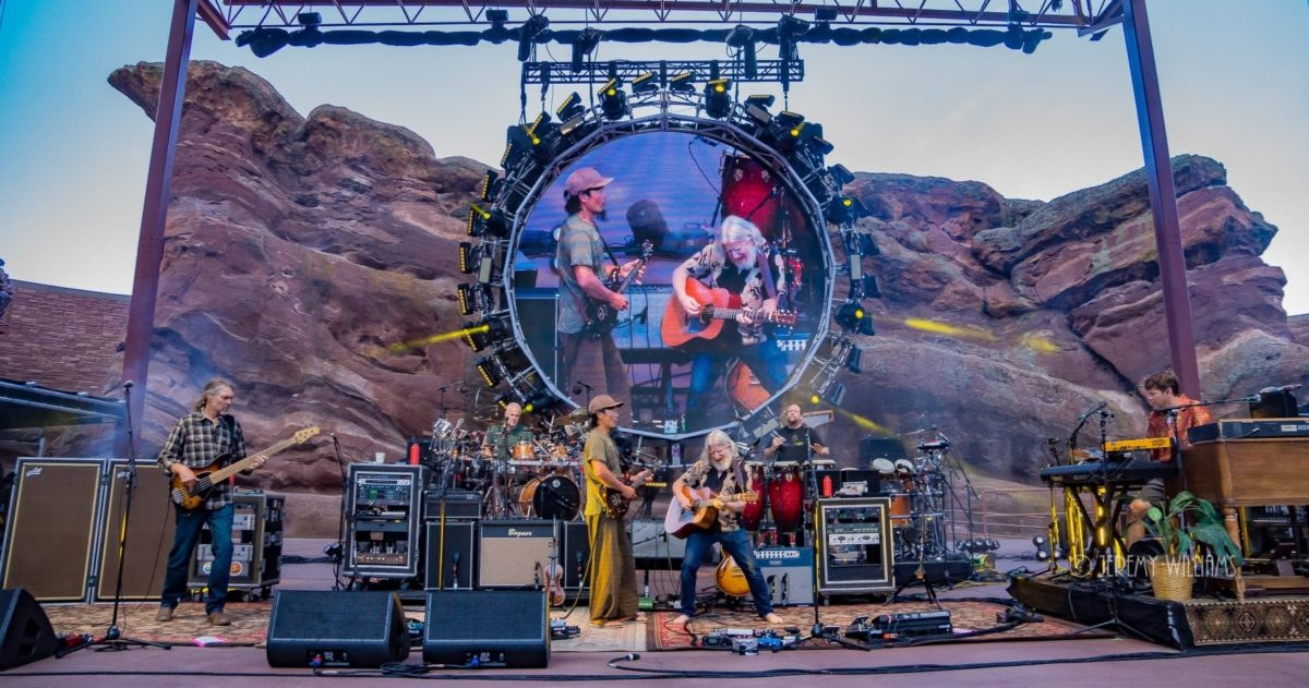 The String Cheese Incident Announces 2018 Return To Red Rocks
