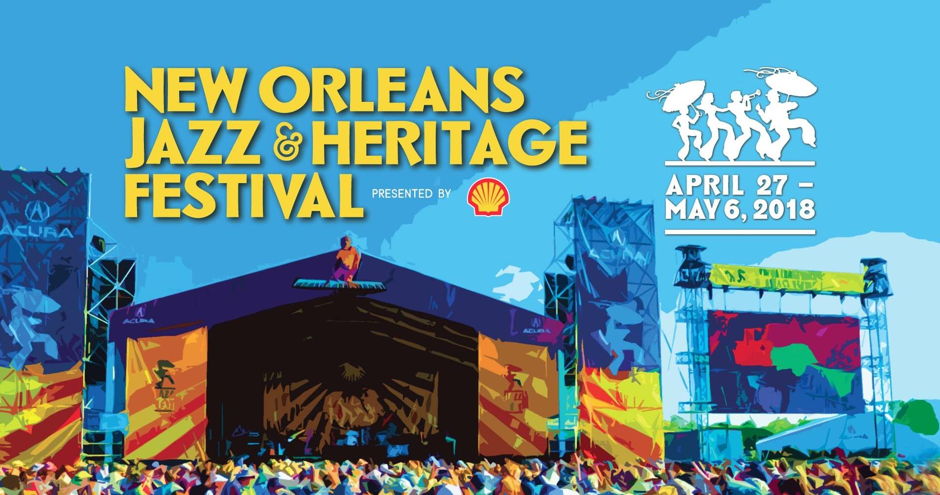 New Orleans Jazz & Heritage Festival Announces 2018 Lineup