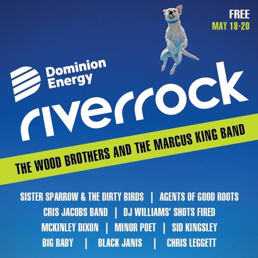 Dominion Energy Riverrock Music Festival Announces 2018 Lineup