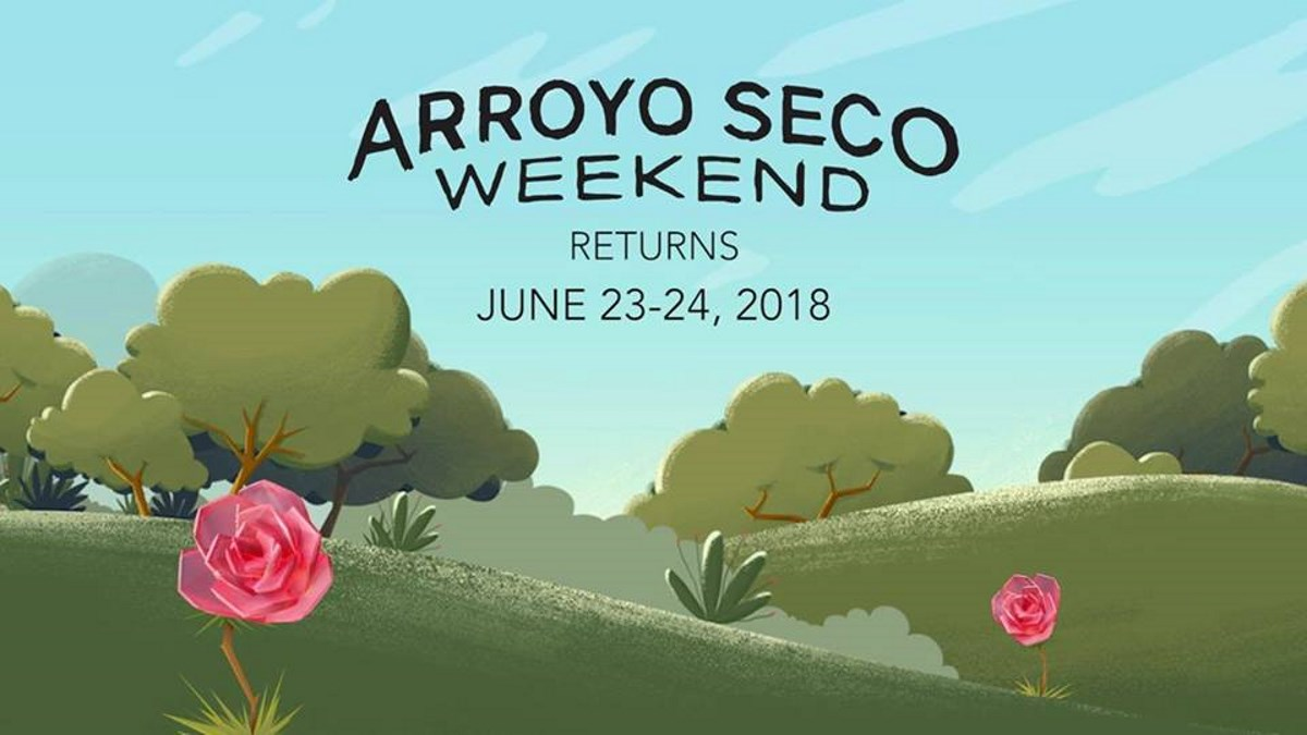 Arroyo Seco Music Festival 2020.Arroyo Seco Weekend Announces 2018 Lineup