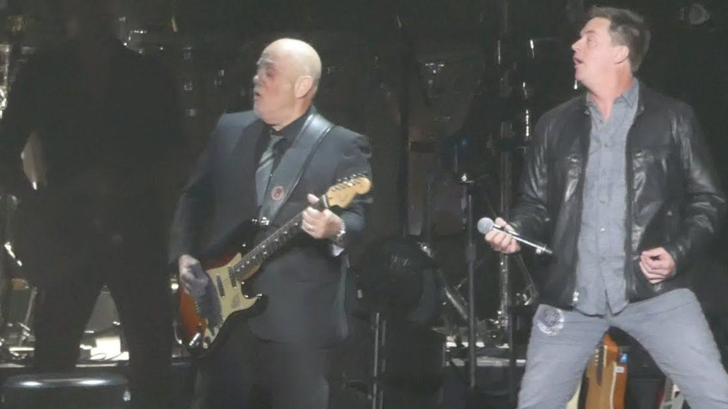 Billy Joel Covers Ac Dc With Jim Breuer At Madison Square Garden