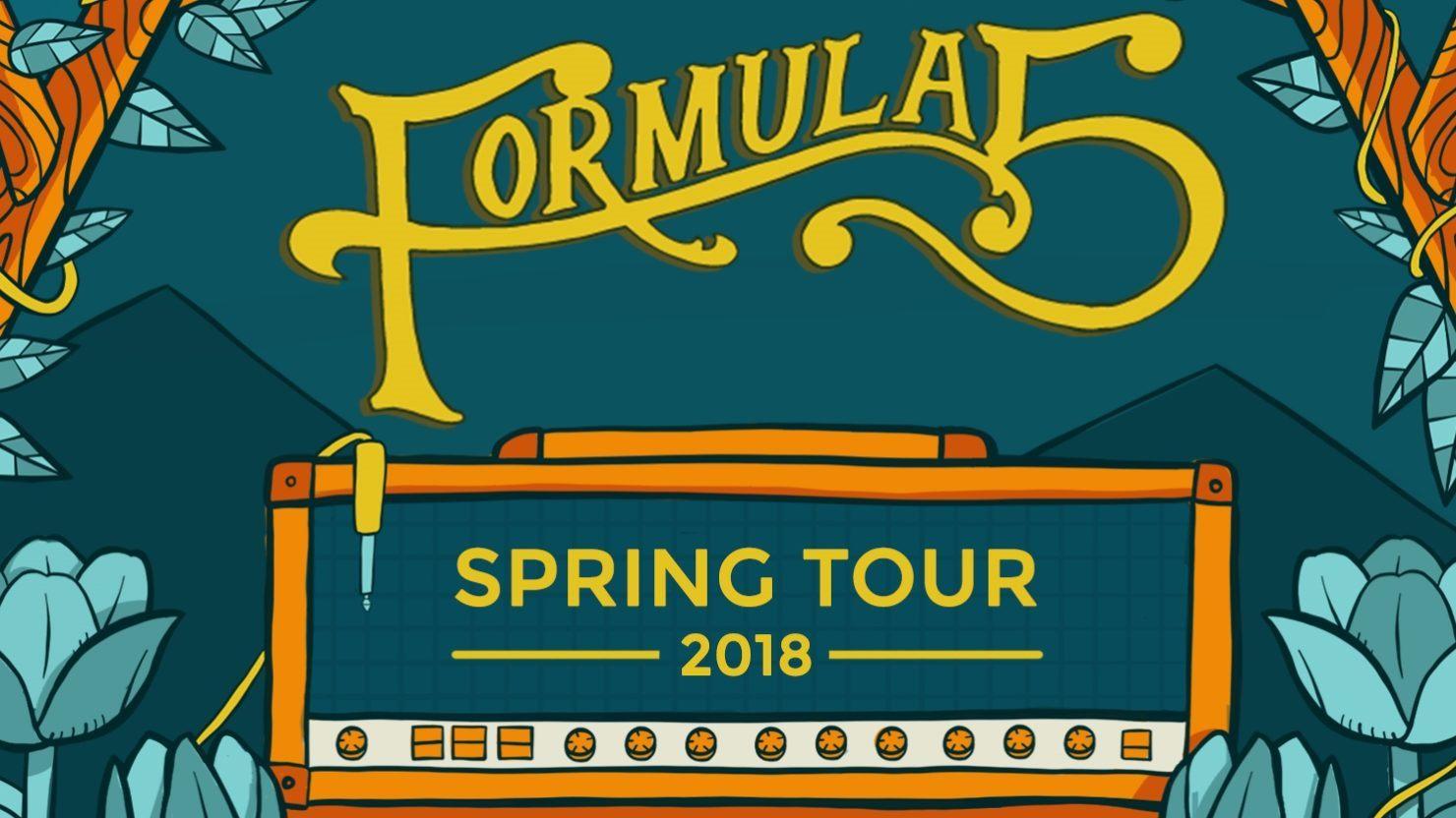 Formula 5 Announces 2018 Spring Tour & Rock The Dock Festival Lineup