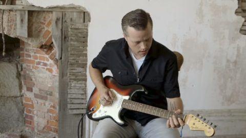 Modal Scarf - Guitar as Psychologist 1 by VIDA VIDA ySQV5ZY2