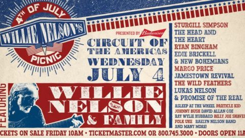 Willie Nelson Announces 2018 4th Of July Picnic Lineup Utter Buzz