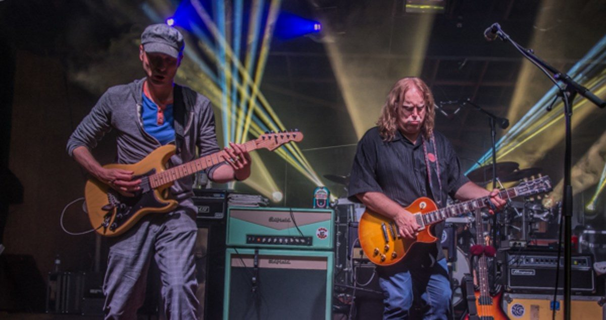 Umphrey's McGee Performs Guest-Filled Set At Wanee On This