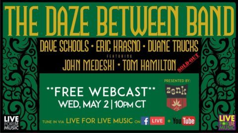 The daze between band featuring eric krasno announces free new the daze between band featuring eric krasno announces free new orleans webcast fandeluxe Gallery