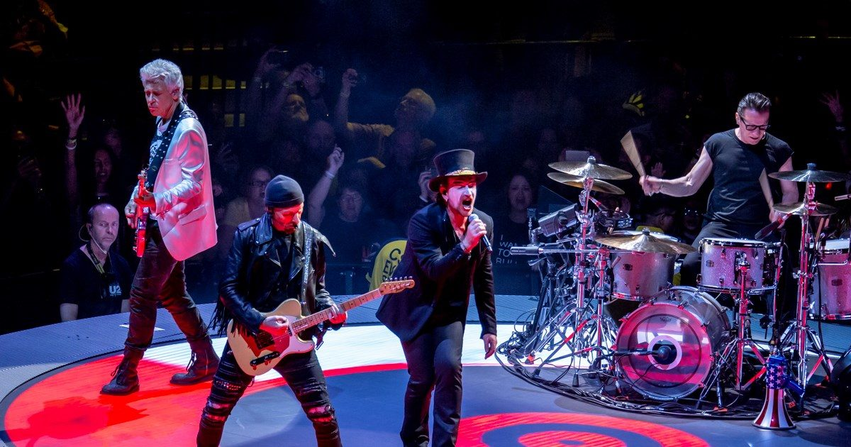 U2 To Play The Apollo Theater In New York City