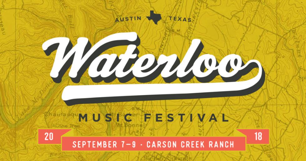 Waterloo Music Festival - Sep 7 - 9, 2018 - Austin, TX