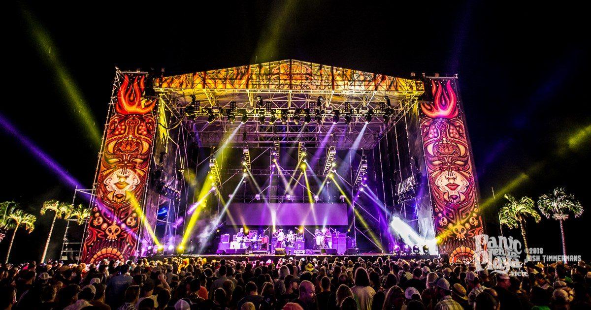Panic En La Playa 2018 Stage Glory Widespread Panic