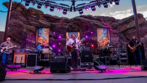Widespread Panic Red Rocks