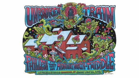 Phil Lesh The & The Lesh Terrapin Family Band, Twiddle & Midnight North   7751bf