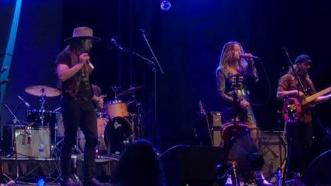 Margo Price Lukas Nelson Perform Stop Draggin My Heart Around
