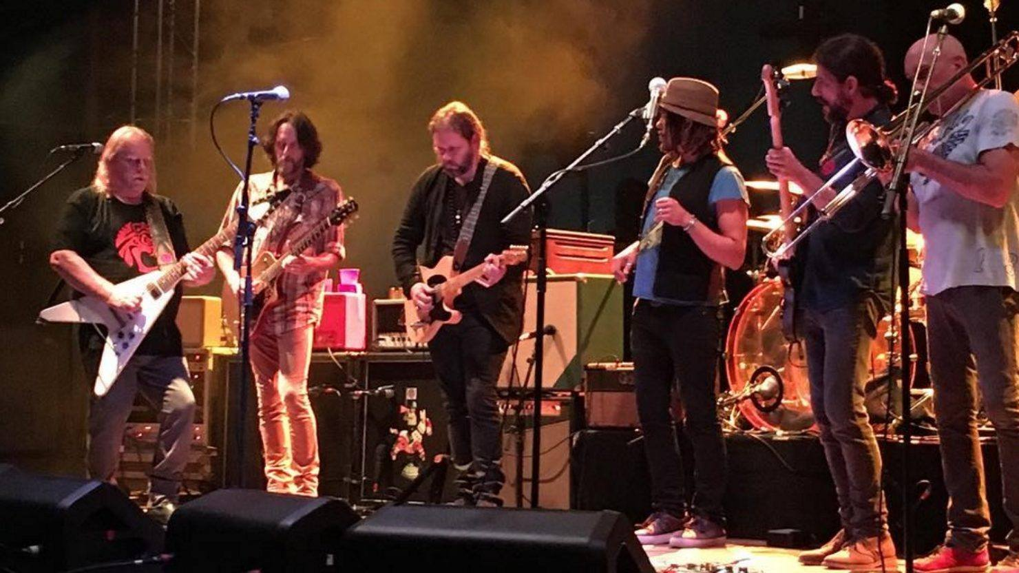Members Of The Magpie Salute Join Gov't Mule In Tennessee