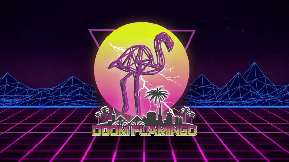 Doom Flamingo Logo