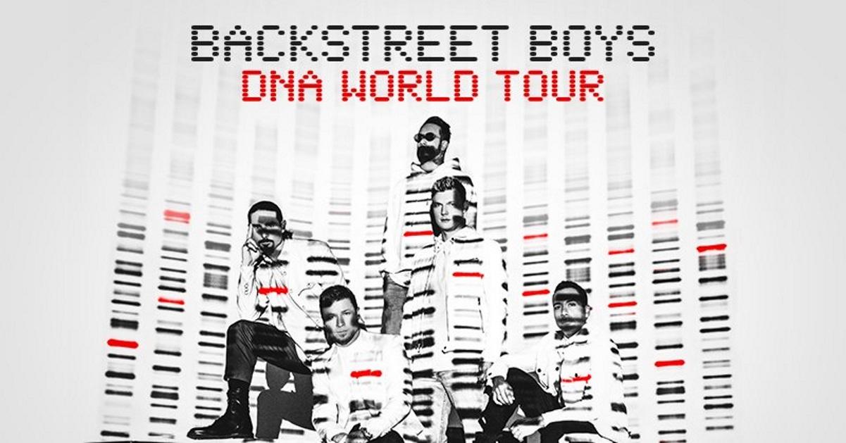 Backstreet Boys Announce Dna World Tour 2019