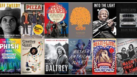 JamBase 2018 Music Books