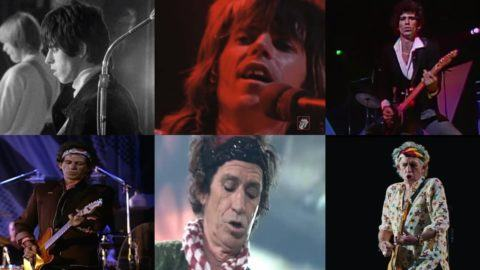 Keith Richards Rolling Stones 75th Birthday
