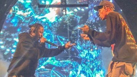 Kendrick Lamar Travis Scott goosebumps madison square garden