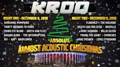 KROQ Almost Acoustic Christmas Lineup 2018