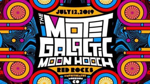 The Motet Galactic Moon Hooch Red Rocks