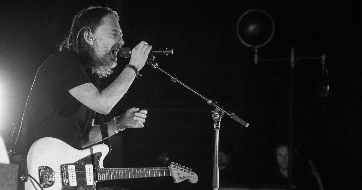 Thom Yorke Radiohead Boston