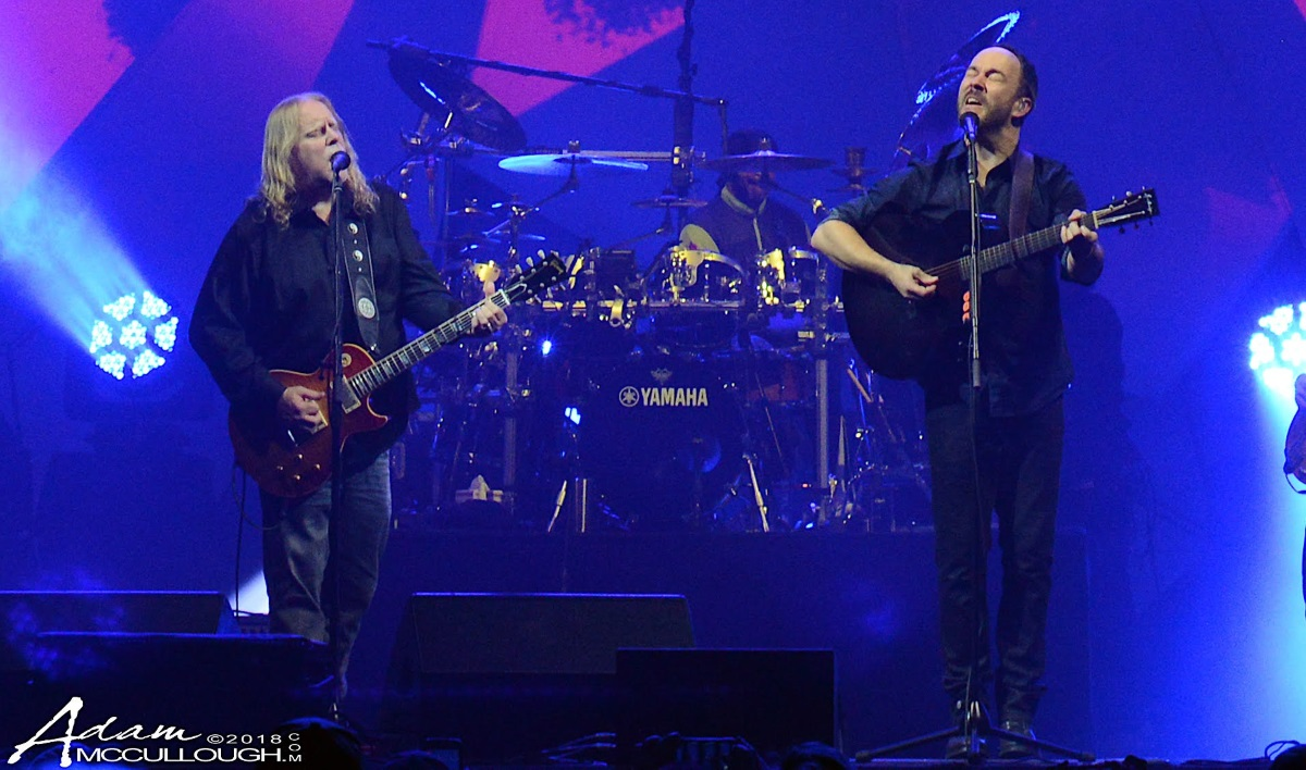 Updated warren haynes teams with dave matthews band at madison square garden The killers madison square garden