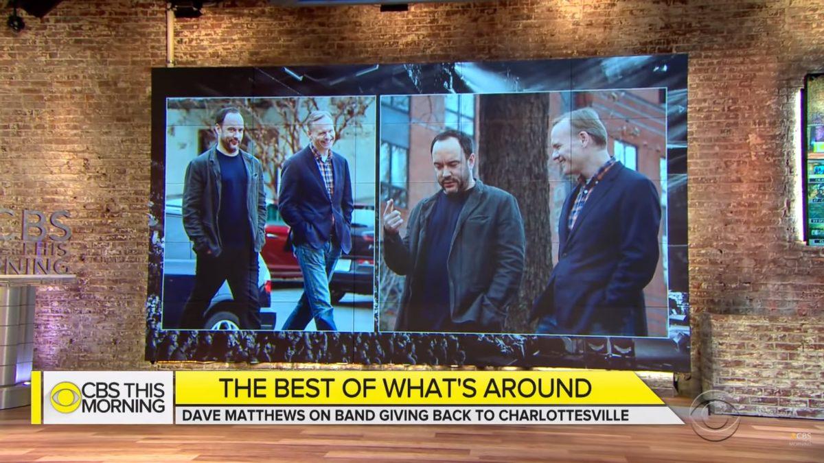 Dave Matthews Band CBS This Morning Charlottesville