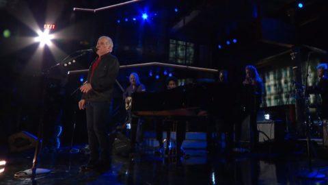 Paul Simon Late Show With Stephen Colbert Batiste
