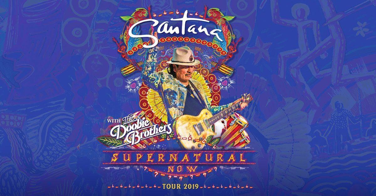 Santana Supernatural Now Tour 2019 Doobie Brothers