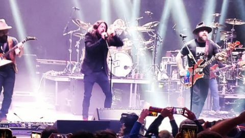 Dave Grohl Zac Brown Band Metallica