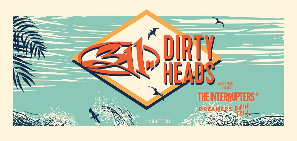 311 dirty heads announce summer tour 2019. Black Bedroom Furniture Sets. Home Design Ideas
