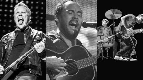 Metallica Dave Matthews Black Keys Chase Center