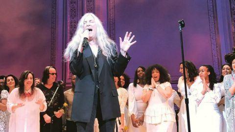 Patti Smith Van Morrison Tribute Carnegie Hall