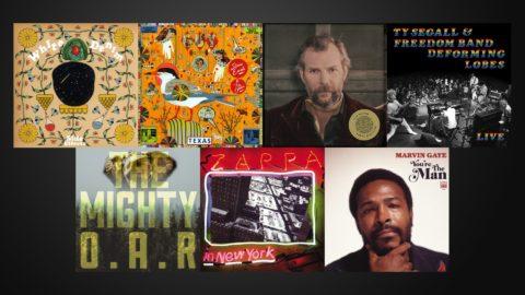 White Denim Earle Bluhm Seagall Oar Zappa Gaye New Albums