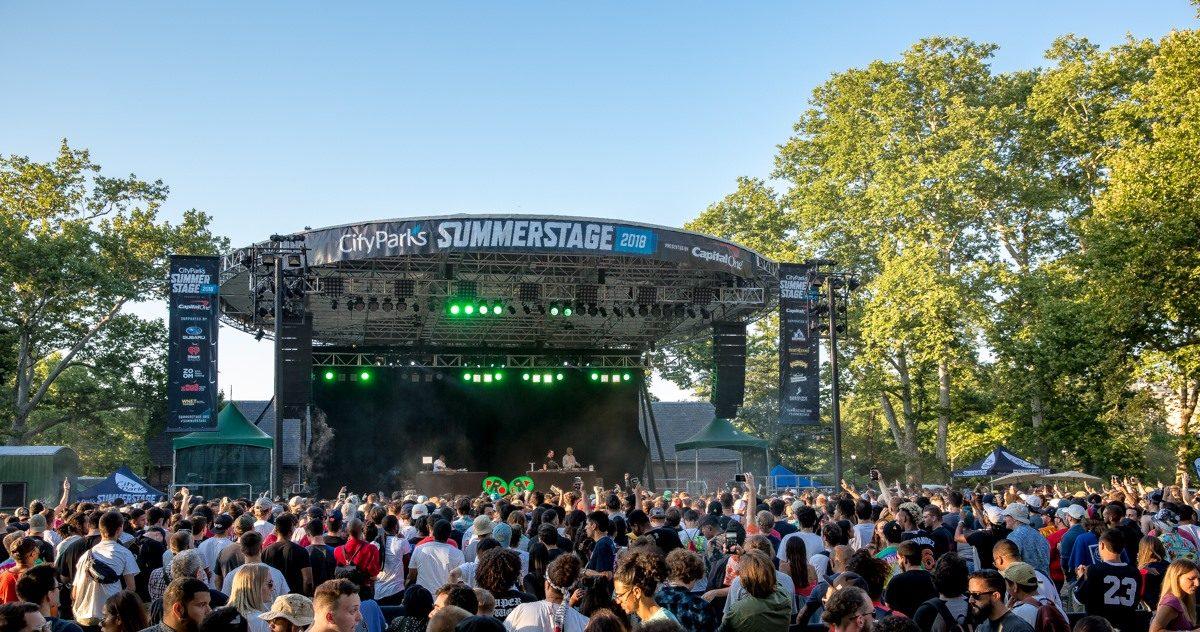 Summerstage Announces 2019 Lineup Schedule George Clinton Kurt