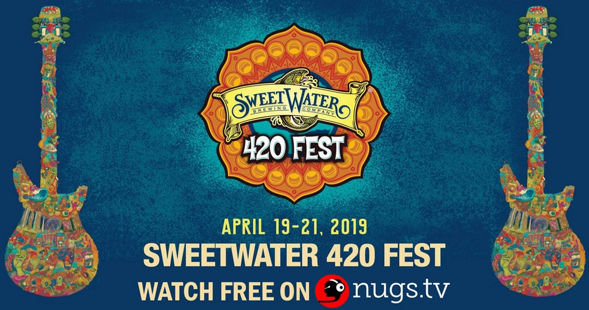 SweetWater 420 Fest Announces Free nugs.tv Webcast: Widespread Panic, Joe Russo's Almost Dead & More