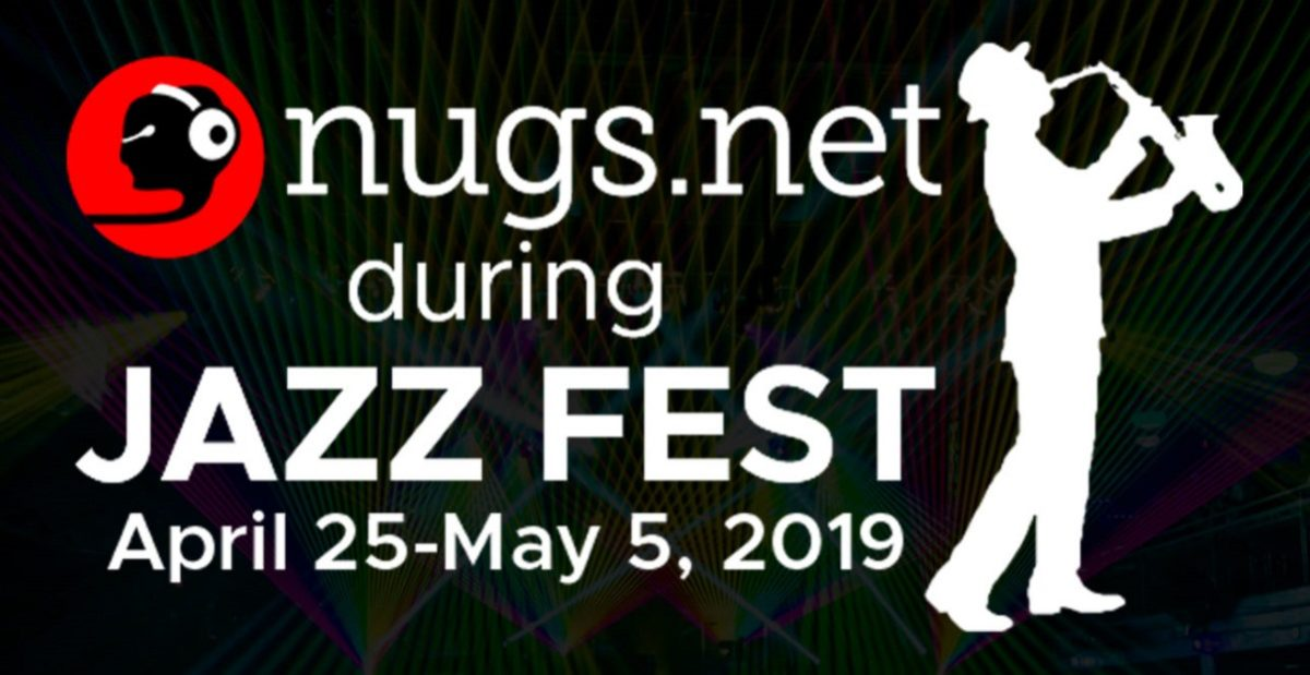 Jazz Fest 2019 Live Stream nugs Logo
