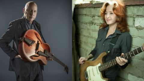 Mark Knopfler Bonnie Raitt Madison Square Garden
