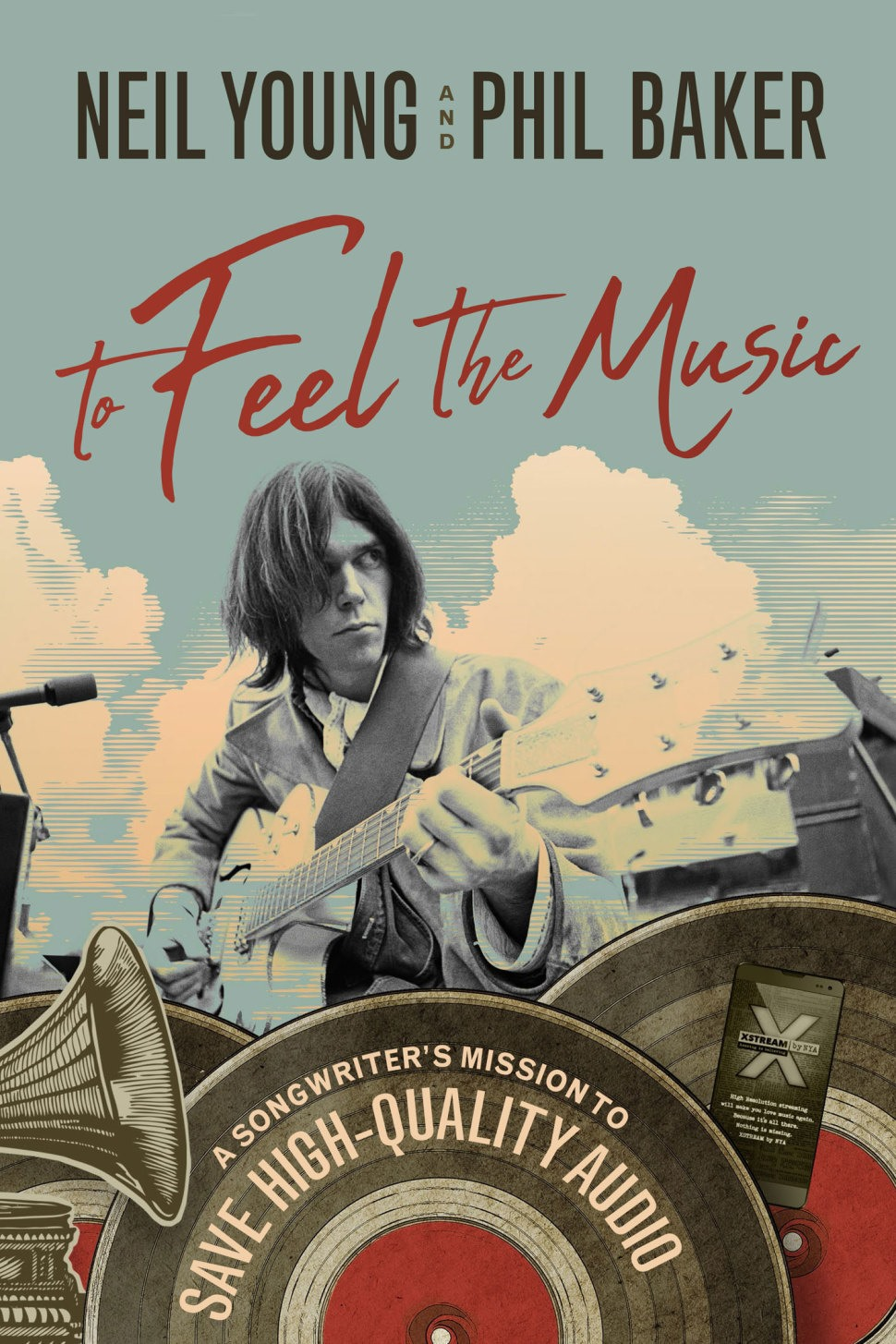 Neil Young To Feel The Music Book