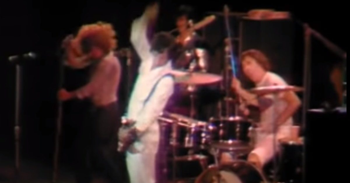 The Who Tommy Tanglewood 1970
