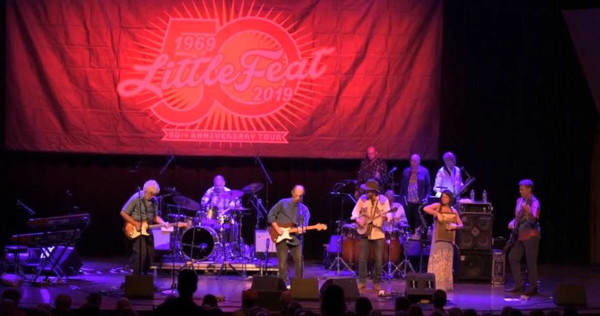Little Feat Andy Thorn Bonnie Paine