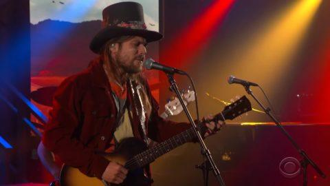 Lukas Nelson Promise Real Colbert